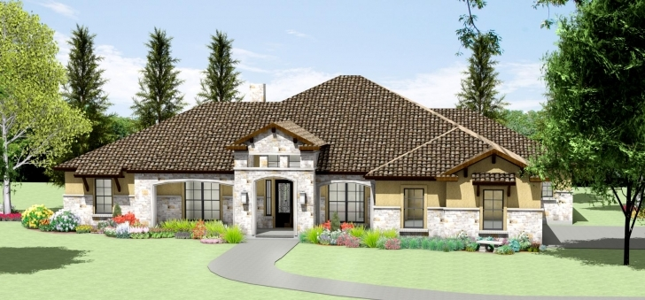 Splendid 117 Texas House Designs - Reese Ranch Headquarters South Texas Texas House Plans Image