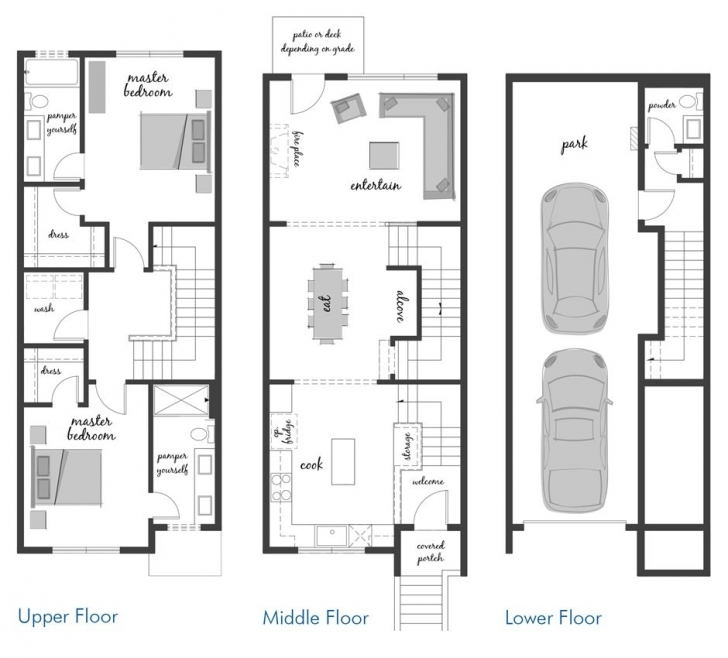 Splendid 52 New Townhome Floor Plans Best House Gallery Lively And Pictures Townhome Floor Plans Picture