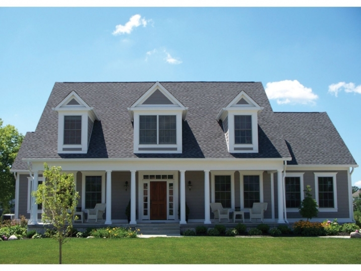 Splendid Exciting Cape Cod House In Millenial Era (Timeless House Style Cape House Plans Image