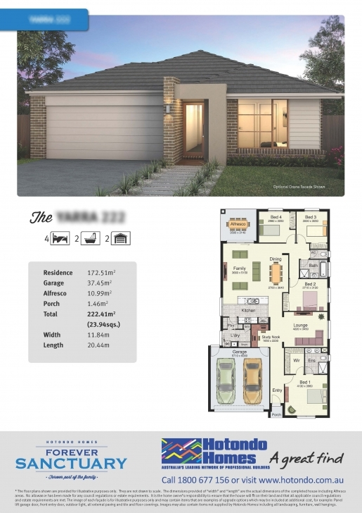 Splendid Great 4 Brm Plan (Australia) Whitsunday 220 Brochure Pdf Floor Plan Brochure Photo