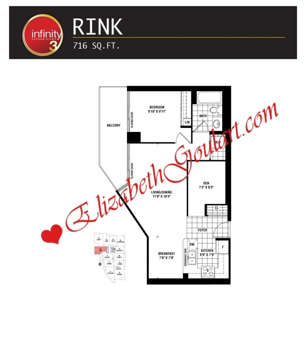 Splendid Infinity Condos | 19/30 Grand Trunk | 25/51 Lower Simcoe | Elizabeth Infinity Condo Floor Plans Photo