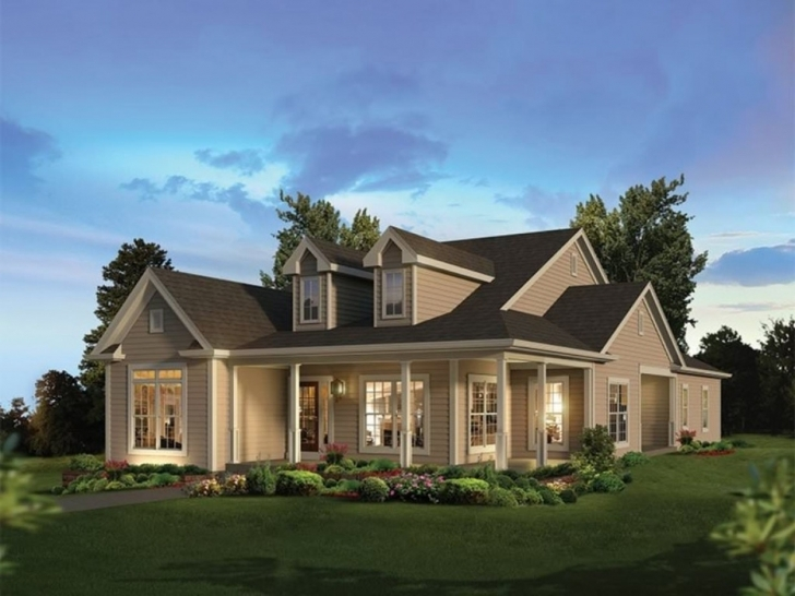Splendid New Country Style House Plans With Wrap Around Porches, New 20 18 Country Style House Plans Photo