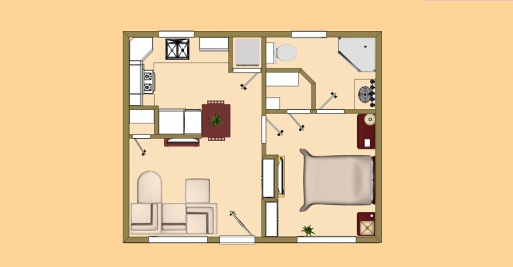 Splendid Small House Plans Under 500 Sq Ft … | My House | Pinte… Small House Plans Under 500 Sq Ft Image
