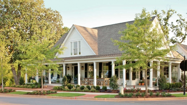 Splendid Southern Living House Plans With Pictures Modern — Simple House Plans Country Living House Plans Image
