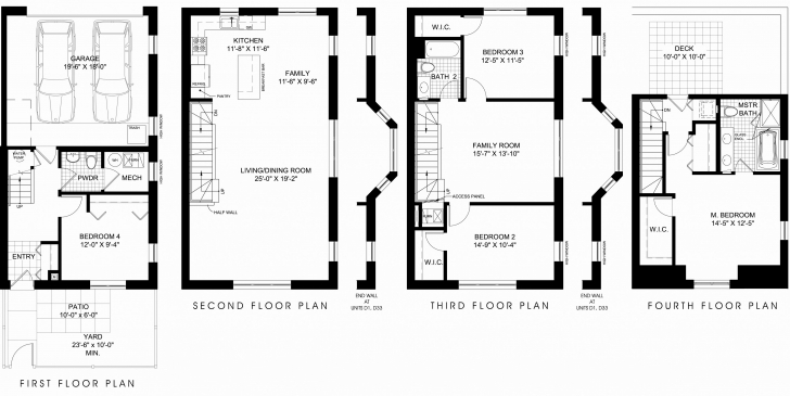 Splendid Townhome Floor Plans And Pictures Awesome Image From S S Media Cache Townhome Floor Plans Photo