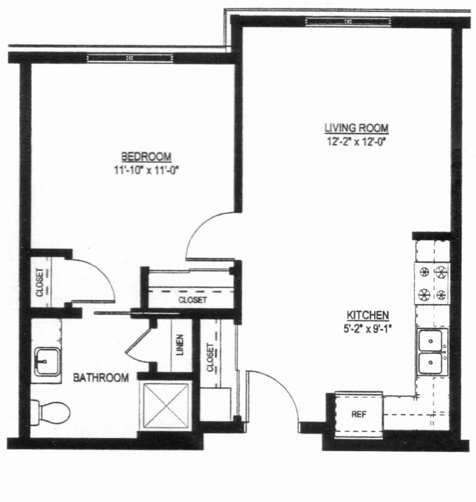 Stunning 50 New Images Of Simple 1 Bedroom House Plans - House Home Floor Plans One Bedroom House Plans Pic