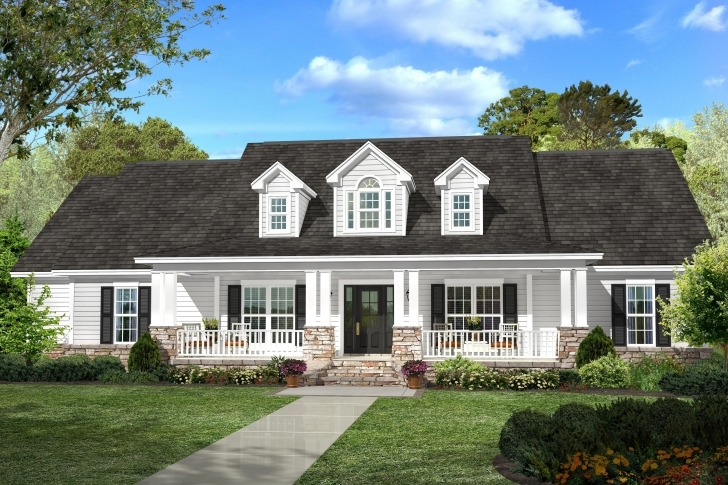 Stunning Famous Country Style House Plans With Wrap Around Porches For Inside Country Style House Plans Image