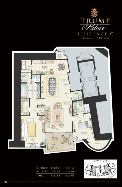 Stunning Floor Plans - Trump Palace Condos Trump Palace Floor Plans Picture