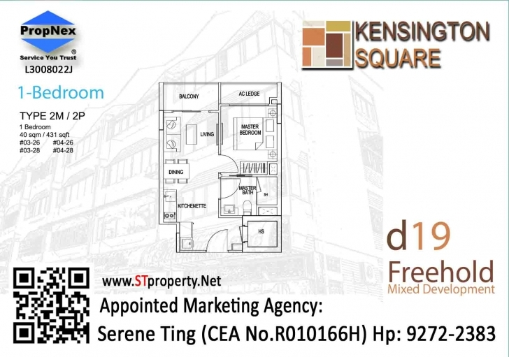 Stunning Kensington Square Floor Plan | Kensington Square, Freehold Mixed Kensington Square Floor Plan Image