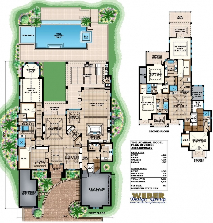 Stunning Luxury House Plans: Modern Luxury, Beach, Coastal, Mediterranean & More Luxury House Plans Picture