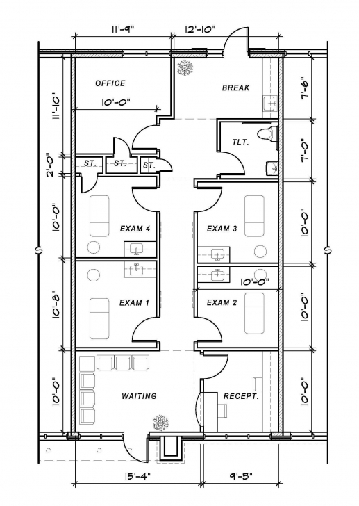 Stunning Medical Office Floor Plan Samples Decorating Inspiration 12423 Medical Clinic Floor Plan Design Sample Image
