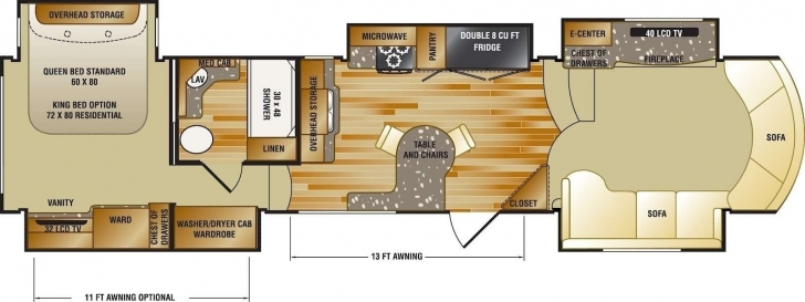 Top 5Th Wheel Camper Floor Plans Elegant 24 Awesome Fifth Wheel Camper 5th Wheel Camper Floor Plans Photo