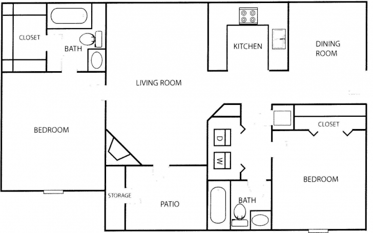 Top Apartment Over Garage Plans Along With Garage Apartment Floor Plans Floor Plans 2 Bedroom Picture