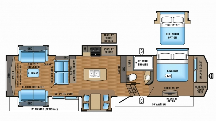 Top Bighorn Rv Floor Plans With 50 Inspirational Montana 5Th Wheel Floor Bighorn Floor Plans Picture