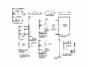 Top Bradford - Floor Plan | Fischer Homes Bradford Floor Plan Image