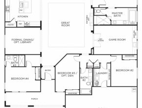 Top Love This Layout With Extra Rooms. Single Story Floor Plans   One One Floor House Plans Image