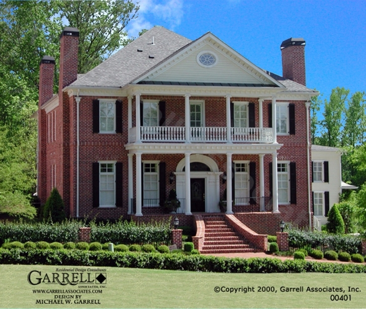 Top Miles Brewton Hall House Plan | Colonial House Plans Colonial House Plans Picture