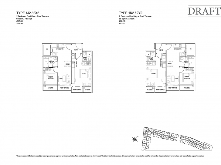 Top Photo of 2 Bedroom (Dk) - Kensington Square Kensington Square Floor Plan Pic