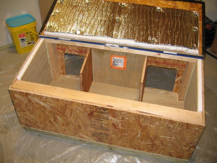 Top Photo of Cat House Plans Insulated | Animals | Pinterest | Cat House Plans Cat House Plans Image