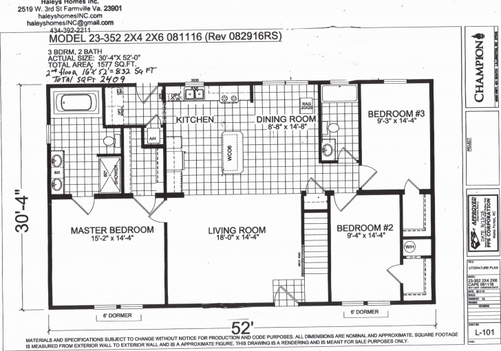 Top Photo of Champion Mobile Homes Floor Plans Lovely 6 Bedroom Manufactured Home Champion Mobile Home Floor Plans Image