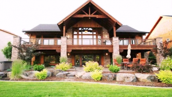 Top Photo of House Plans Walkout Basement Lake - Youtube Lakefront House Plans Picture