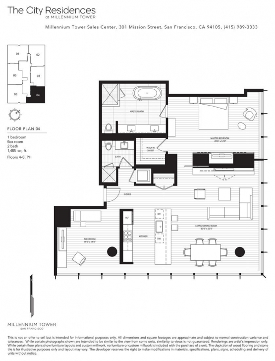 Top Photo of Millennium Tower | Millennium Tower Sf Floor Plans | Pinterest | Tower Millennium Tower Floor Plans Image
