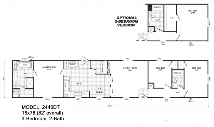 Top Photo of Mobile Homes Floor Plans Single Wide Cool Single Wide Mobile Home Single Wide Floor Plans Pic
