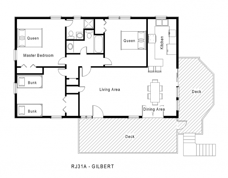 Top Photo of One Level House Plans Single Home 0 | Interior Design One Level House Plans Picture