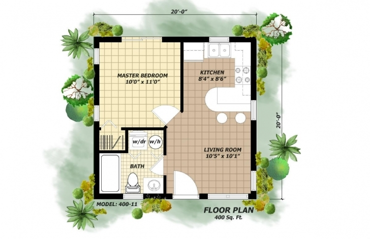 Wonderful 700 Square Foot House Plans Luxury Small House Plans Under 400 Sq Ft 400 Sq Ft House Plans Photo