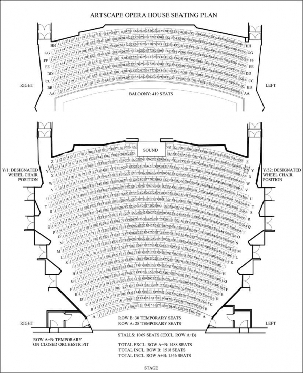 Wonderful Artscape Theatre Centre, Cape Town - Upcoming Classical Events Artscape Floor Plan Picture