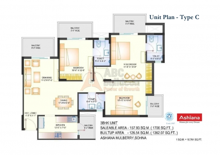 Wonderful Ashiana Mulberry Floor Plan - Floorplan.in Mulberry Floor Plan Photo