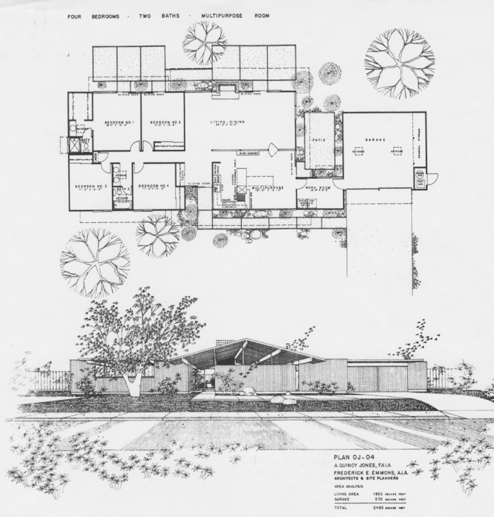 Wonderful Eichler Floor Plans-Fairhills - Eichlersocaleichlersocal Eichler Floor Plans Picture