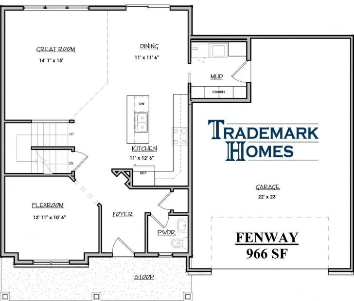 Classy Trademark Homes Floor Plans Best Of 20 X 40 House Plans