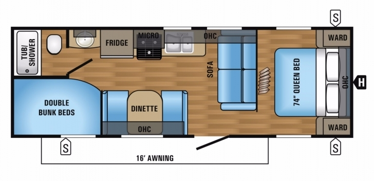 Wonderful Jayco Jay Flight Rvs For Sale - Rvs Near Macon Jay Flight Rv Floor Plans Image