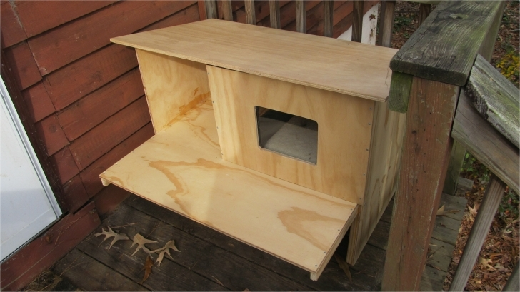 Wonderful Outdoor Cat House Plans Winter Outdoor Cat House Building Plans Cat House Plans Photo