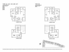 Wonderful Penthouse-2 Bed - Kensington Square Kensington Square Floor Plan Image