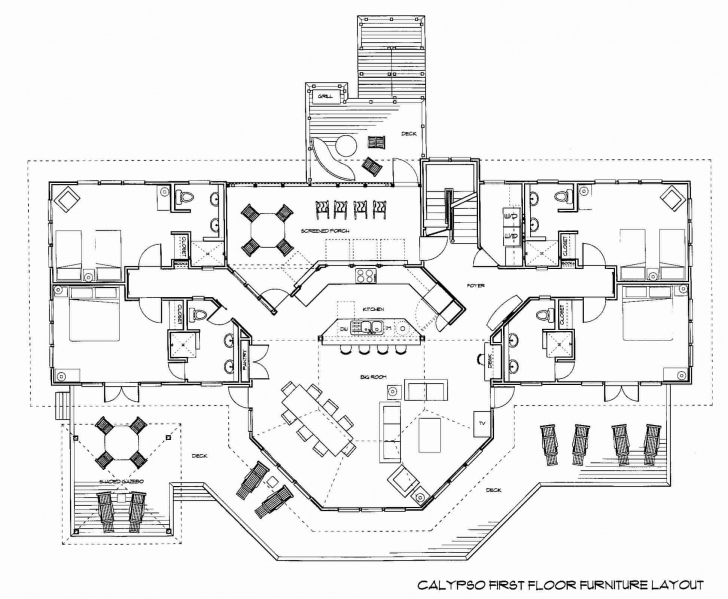 Wonderful Pleasant Floor Unique Floor Plans - Modern Home Decoration And Floor Plans.Com Photo