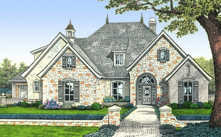 Wonderful Small 1 Story Cottage House Plans Luxury E Story French Country French Country House Plans Pic