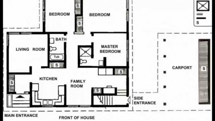Wonderful Small House Plans | Small House Plans Modern | Small House Plans Little House Plans Image
