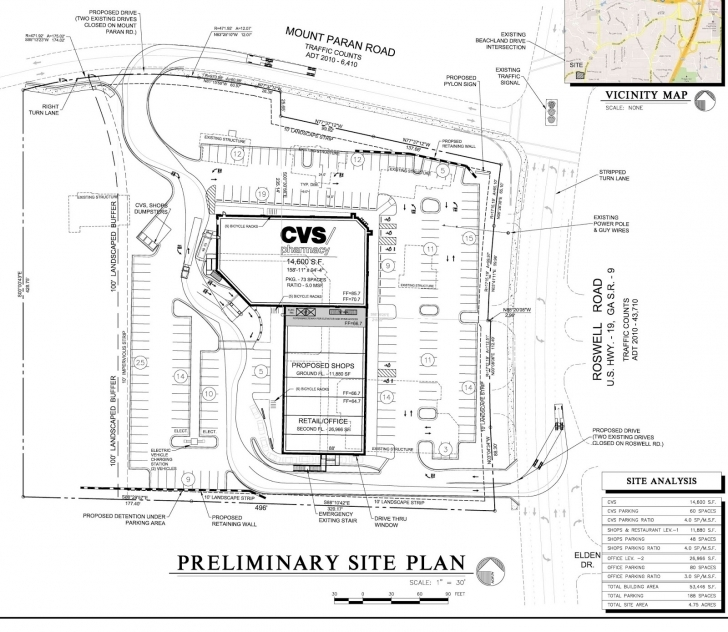 Wonderful Tomorrow's News Today - Atlanta: Will Recon Resuscitate Planned Cvs Cvs Floor Plan Image