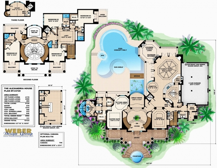 Amazing 2 Story House Plans With Basement Awesome Floor Plan 3 Story House Three Story House Plans Photo