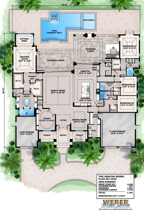Amazing Tropical House Plans: Coastal & Tropical Island Beach Floor Plans Tropical Floor Plans Pic