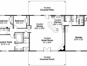 Astonishing 15+ Best Ranch House / Barn Home / Farmhouse Floor Plans And Design Ranch House Floor Plans Picture