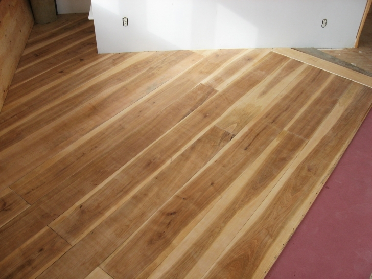 Astonishing A Wide Plank Floor: From Cutting Trees To Installation | Johnny D Blog Wide Plank Maple Flooring Picture