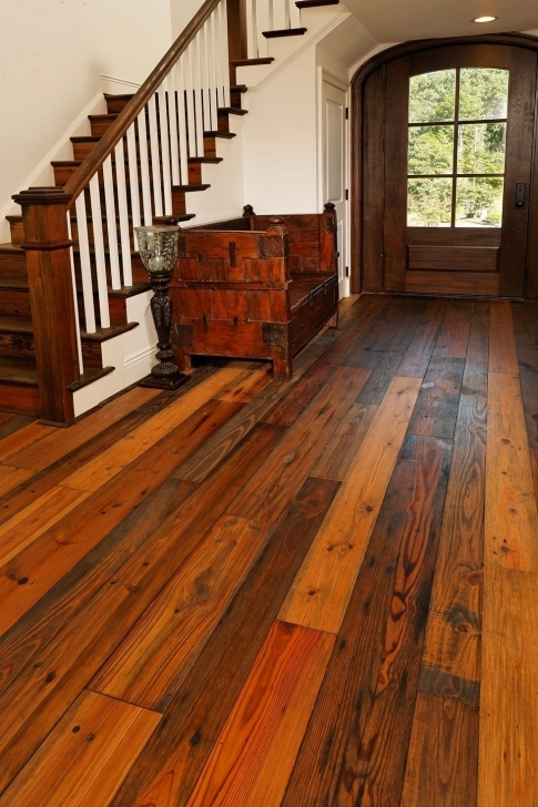 Astonishing My Favorite Flooring Ever!!! Prefinished Old Dirty Goat Wide Plank Reclaimed Wide Plank Flooring Image