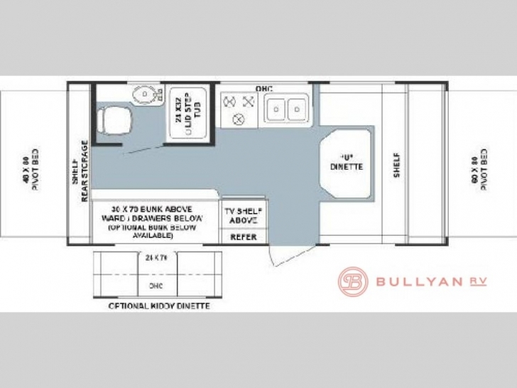 Astonishing Used 2004 Forest River Rv Rockwood Roo 21 Expandable At Bullyan Rv Rockwood Roo Floor Plans Pic