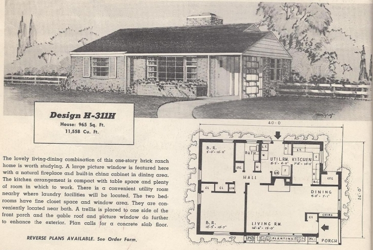 Awesome 1950S Better Homes And Gardens Elegant House Plans - Ciitourismfest Better Homes And Gardens House Plans Pic