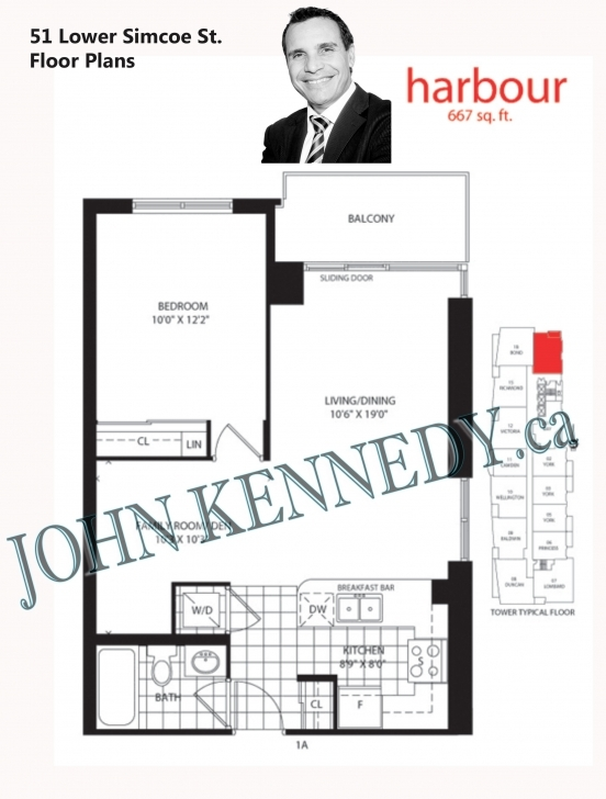 Awesome 51 Lower Simcoe St, Toronto – Infinity Condos – Condos For Sale And 51 Lower Simcoe Floor Plans Pic