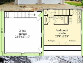 Best Architectural Designs Carriage House Plan 29887Rl Can Be Used As A Carriage House Plans Pic