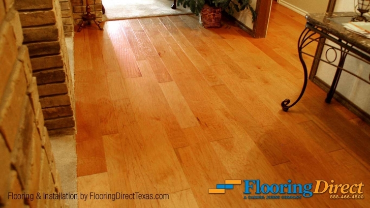 Best Shown In The Color Of Natural Hickory, This Lovely Engineered Flooring Plano Tx Pic